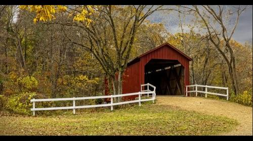 Sandy Creek Covered Bridge, Goldman, Missouri