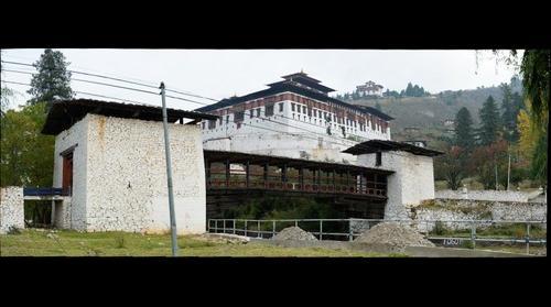 Pungtang Dechen Photrang Dzong, Paro, Bhutan