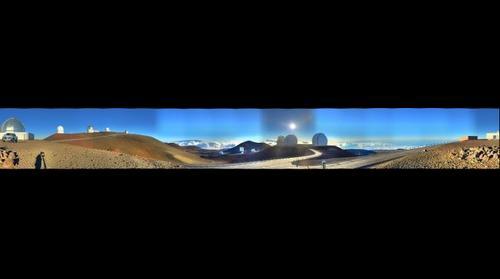 Mauna Kea HDR Gigapan test