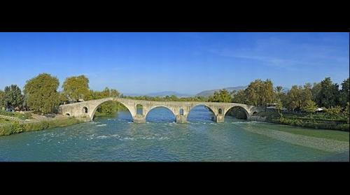 The Historic Bridge of Arta