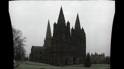 Lichfield Cathedral Front View