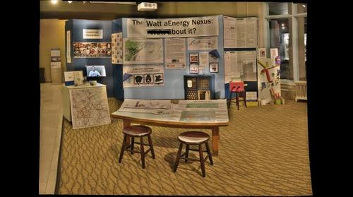 Teen-generated water-energy exhibit at Carnegie Museum of Natural History