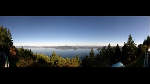 Saanich peninsula, Vancouver Island (from Malahat lookout)