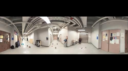 Living in a corridor