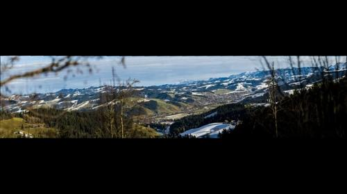View from Moosegg to Langnau (Emmental, Switzerland)