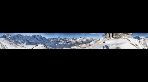 Zermatt, 360 deg. from Hohtalli