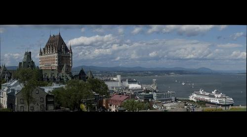 Quebec City from the Citadel