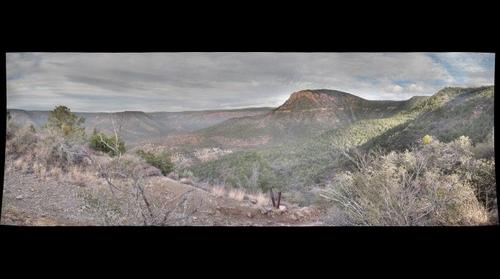 Fossil Creek Canyon View