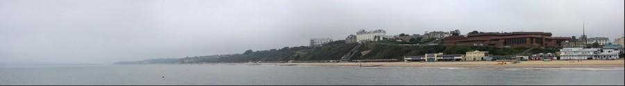 West Cliff, Bournemouth, UK