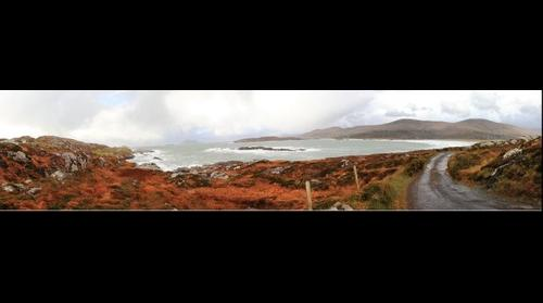 Derrynane, Lambs Head Panorama