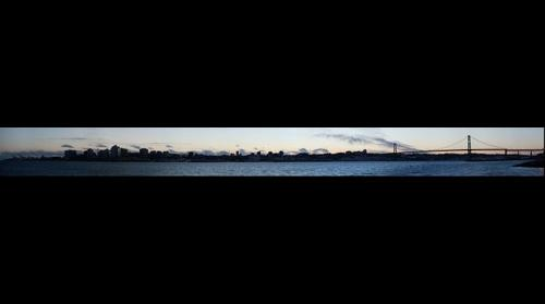 Panorama of Halifax City Shoreline