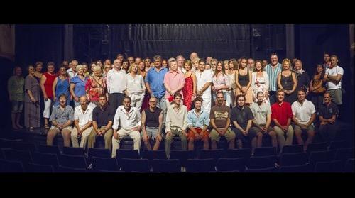Új Színház társulata - 2012. augusztus