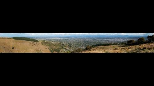 View of Christchurch from Huntsbury #10