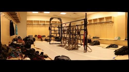 NYC PBR Locker Room