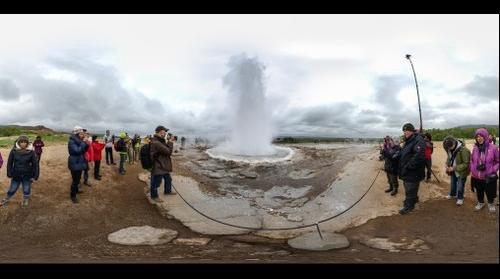 Geyser Strokkur, Iceland