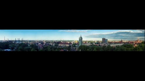 Gdańsk Giga Panorama 74MP