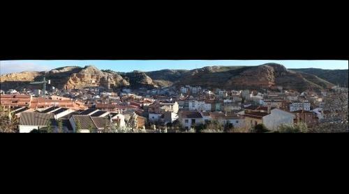Panorama de Alcorisa. Teruel. Spain
