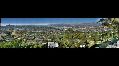 From Mt Helix Looking NE