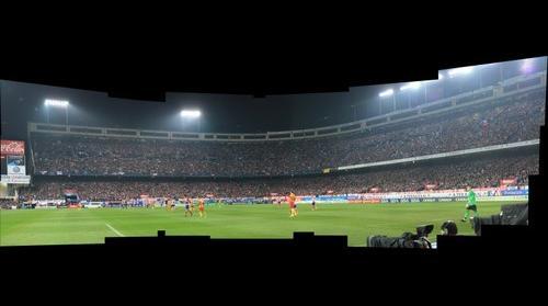 Atlético - Barcelona Estadio Vicente Calderon Fondo Norte