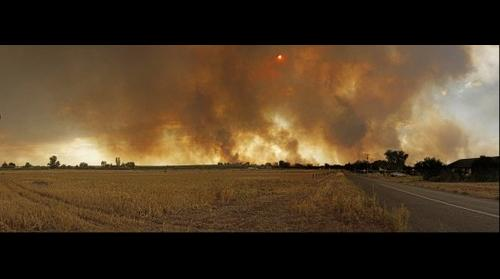 Bushfires, Cooltong South Australia