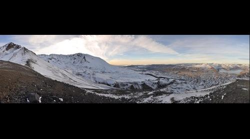 Mt Saint Helens Sugar Bowl Dome Jan 2014