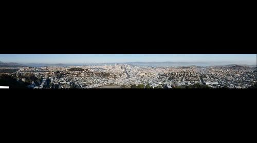 San Francisco from Twin Peaks - #2