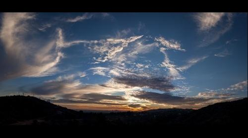 Sunset in Griffith Park 20140119