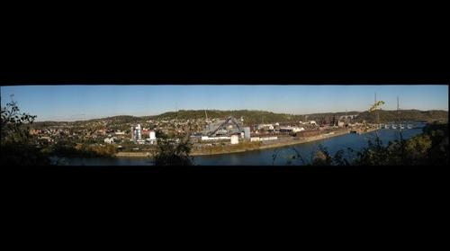 Braddock Vista from Duquesne By Kennywood