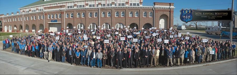 MFA 100th Annual Meeting group photo