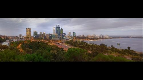 Kings Park Perth at Dusk