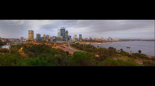 Kings Park Perth at Dusk