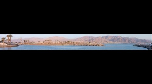 View of Aqaba Jordan