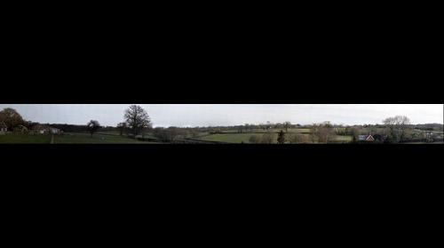 View from The Royal Oak, Fritham, New Forrest, UK