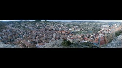 Alcorisa vista desde la Peña San Juan