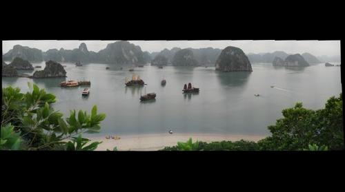Halong Bay, Vietnam from Dao Titop overlook