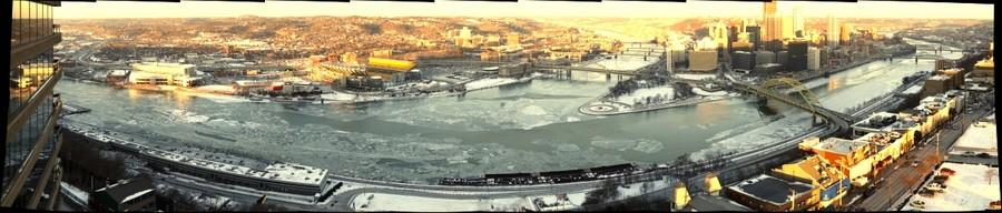 The Three Rivers are Icy!