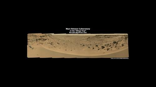 MSL - Sol 528 (The Dingo Gap)