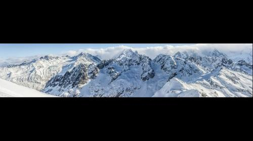 Mont Blanc from Mont Buet