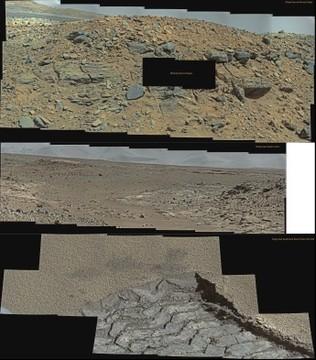 MSL Curiosity @Dingo Gap ~ Sol 526 - 529