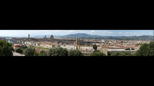 Florence Italy from a high point
