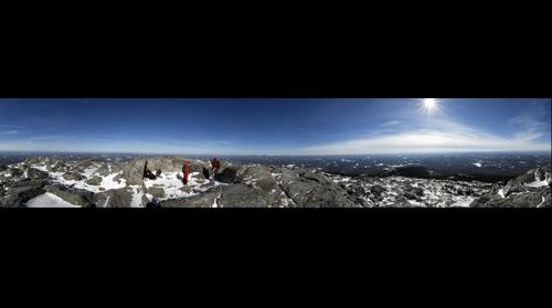 Mount Monadnock in Winter