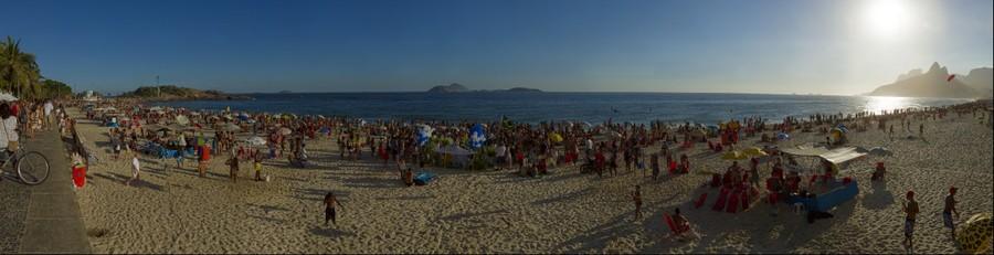 Festa de Iemanjá no Arpoador