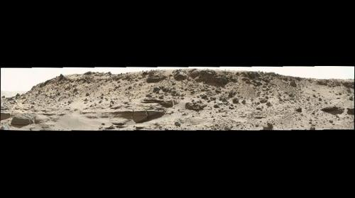 Curiosity sol 0540 panorama in Gale crater, Mars
