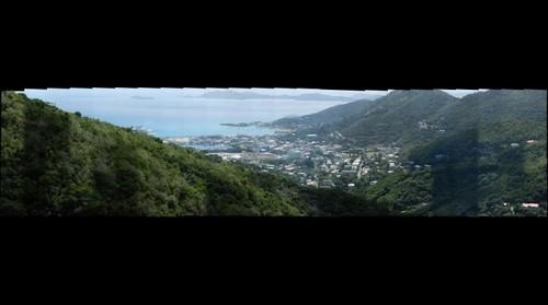 Road Town BVI Overlook