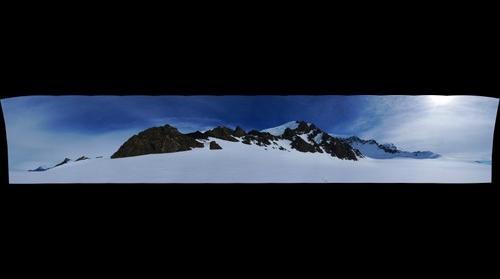 LeMay Range near Snick Pass, Alexander Island, Antarctica