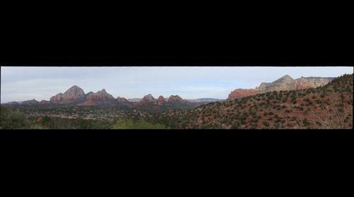 Sedona, AZ - View from Schnebly Hill Road