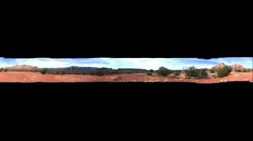 Sedona, AZ - View from Barbara's Park 360