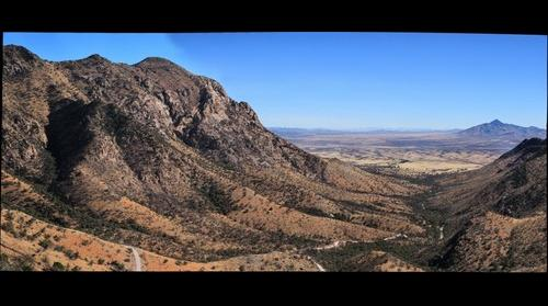 Montezuma Pass in Coronado National Memorial