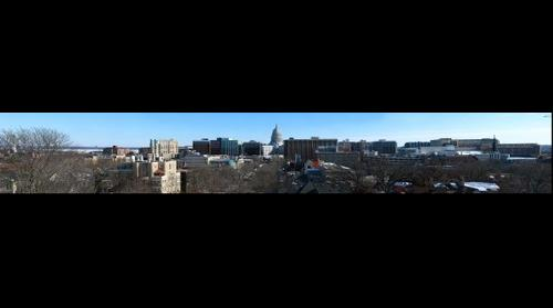 Kennedy Manor Panoramic, Madison Skyline