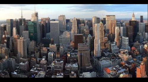 Empire State Building - North view from 60th Floor